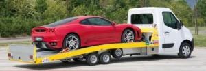 Carroattrezzi per il trasporto di singole autovetture